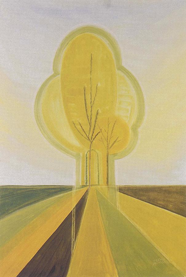 Luis Sloboda, Rock Water, Serie Bach-Blütenportraits