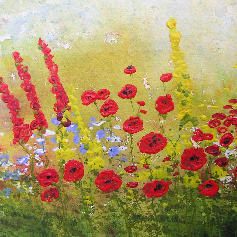 Luis Sloboda, Teaser Lebensfreude - Gartenblumen