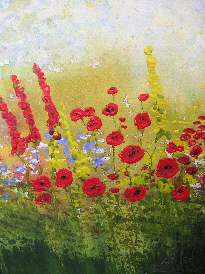 Luis Sloboda, Gartenblumen 2