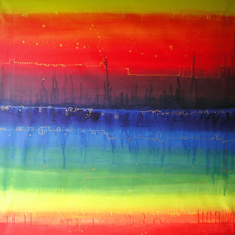 Luis Sloboda, Regenbogen