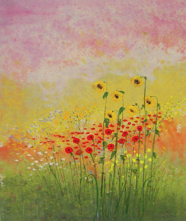 Luis Sloboda, Sonnenblumen