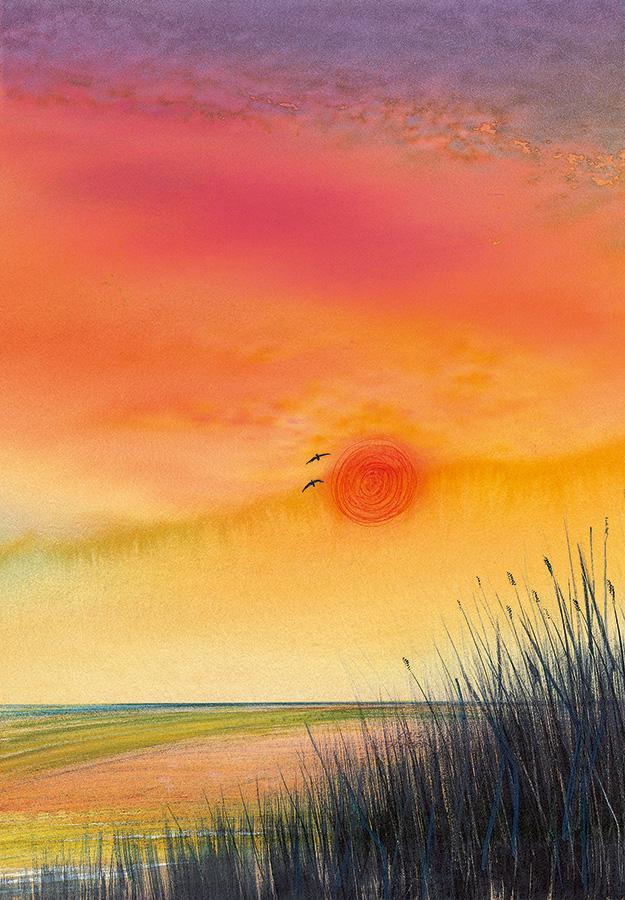 Luis Sloboda, Sonnenuntergang