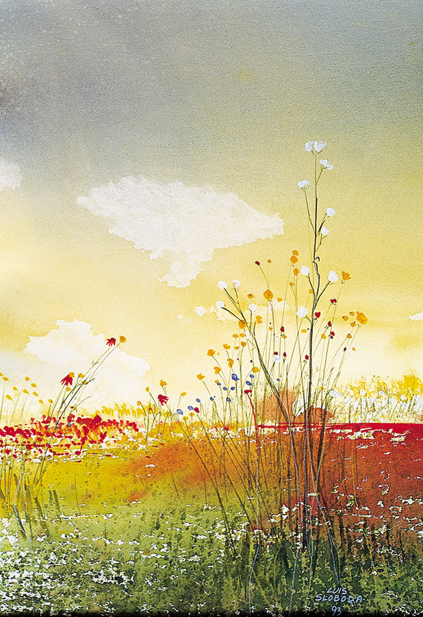 Luis Sloboda, Wiesenblumen